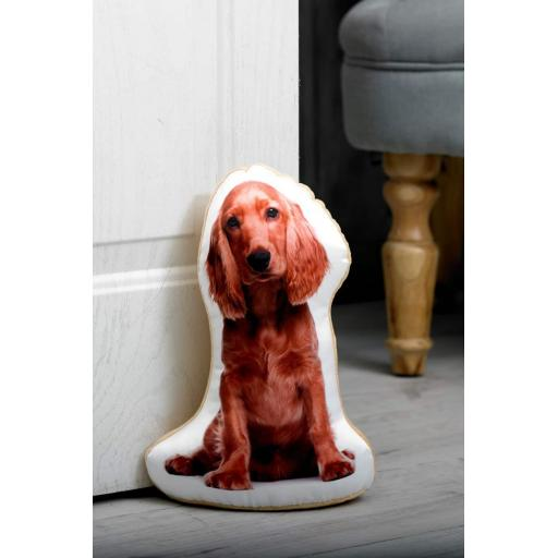 Attention Cocker Spaniel Lovers-Vivid Image Cocker Spaniel Shaped Doorstop