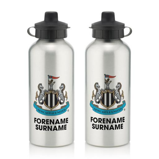 Newcastle United FC Bold Crest Water Bottle