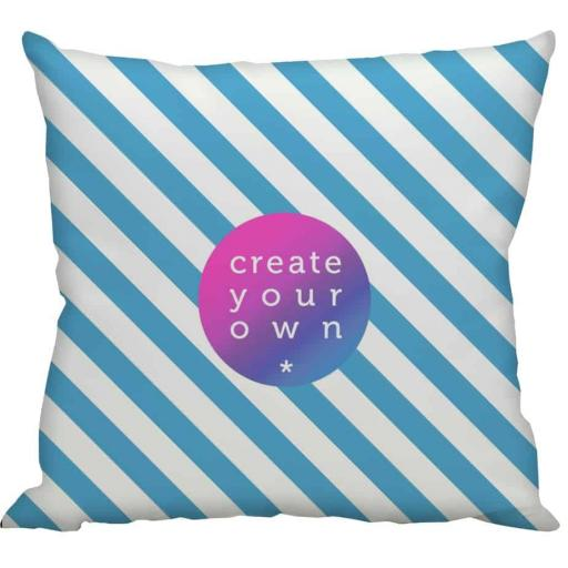 Cushion Cover Only - Smooth Linen - Double Sided print - 60cm x 60cm