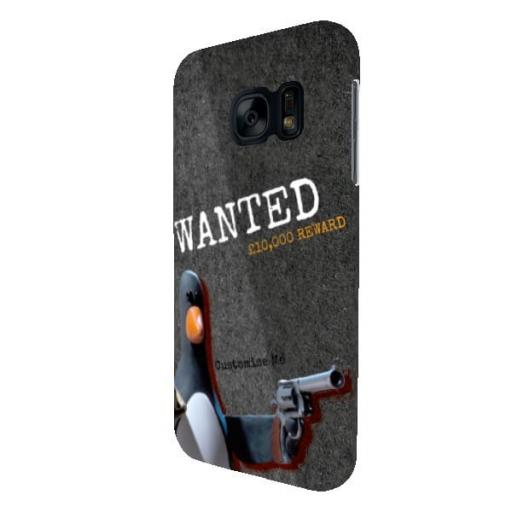 Wallace And Gromit Feathers WANTED Samsung Galaxy S7 Clip Case