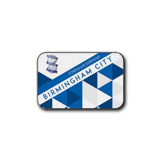 Birmingham City FC Patterned Rear Car Mat