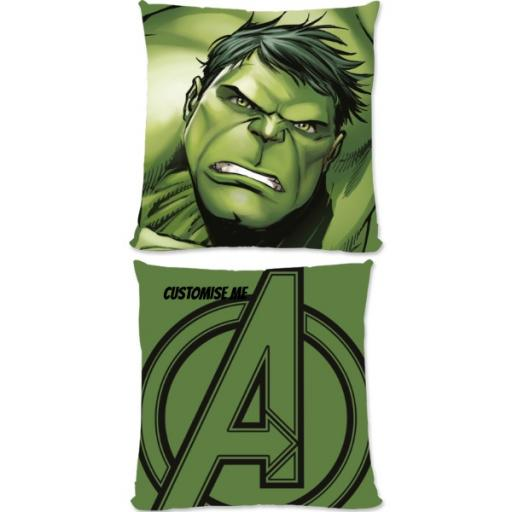 Marvel Avengers Assemble The Hulk Small Fiber Cushion