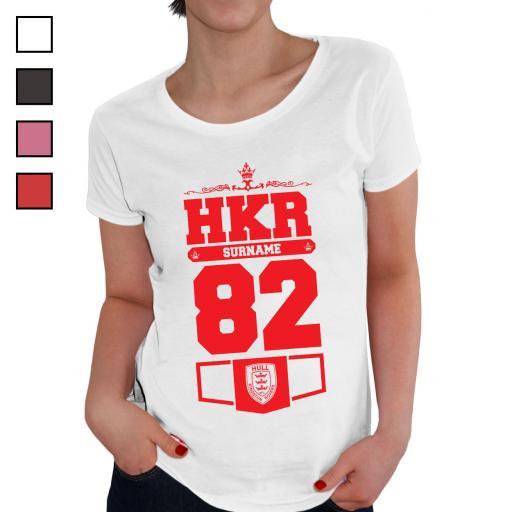 Hull Kingston Rovers Ladies Club T-Shirt