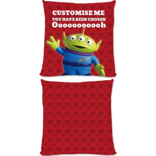 Disney Toy Story Valentines Alien You Have Been Chosen Small Fiber Cushion