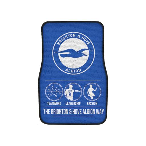 Brighton & Hove Albion FC Way Front Car Mat