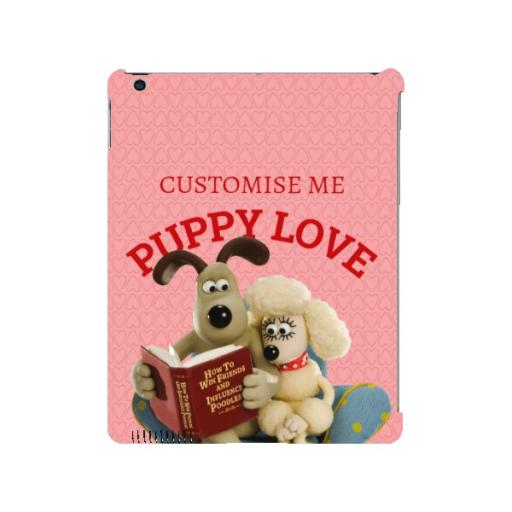 Wallace And Gromit Puppy Love iPad 2/3/4 Clip Case