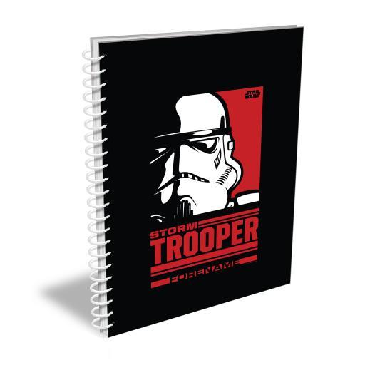 Star Wars Storm Trooper Pop Art A4 Notebook