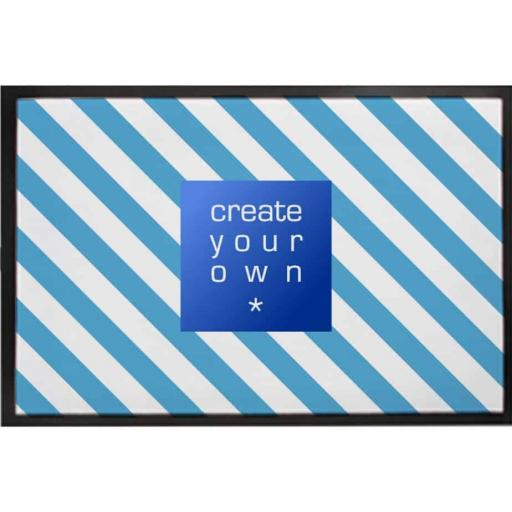 Create Your Own-Door Mat - Rubber Backed - 60cm x 40cm