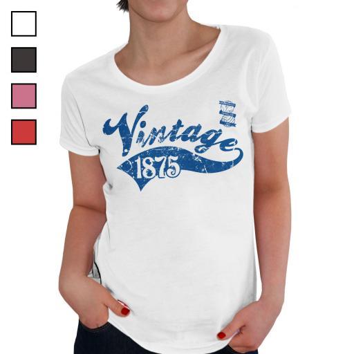 Birmingham City FC Ladies Vintage T-Shirt