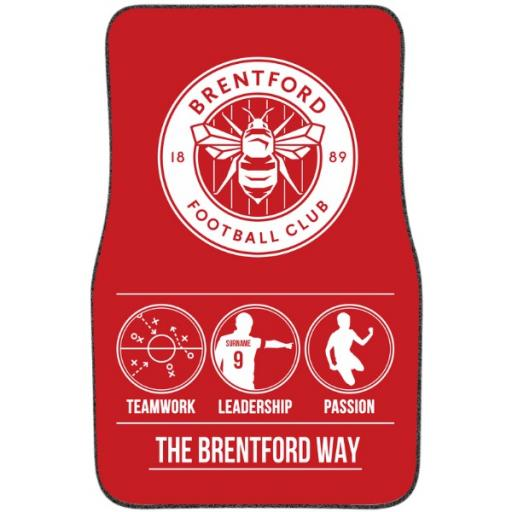Brentford FC Way Front Car Mat