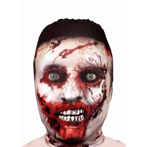 Zombie Mask - Light Weight- Breathable- Great For Halloween & Parties - Male Men
