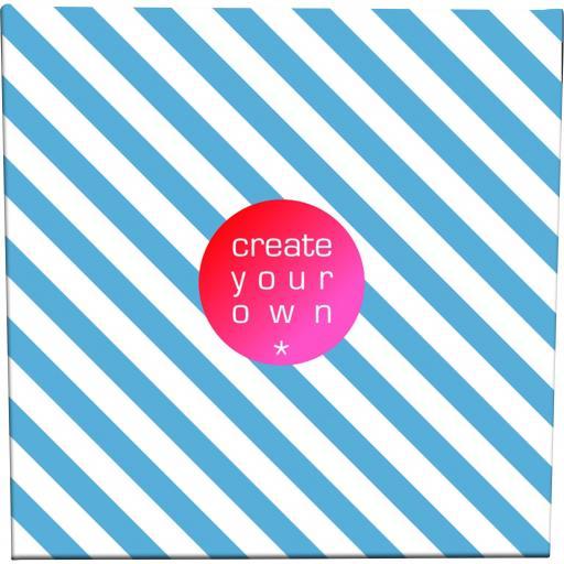 Create Your OwnCanvas - 18mm Frame - X Large - 300gsm Canvas Textile - 70cm x 70cm