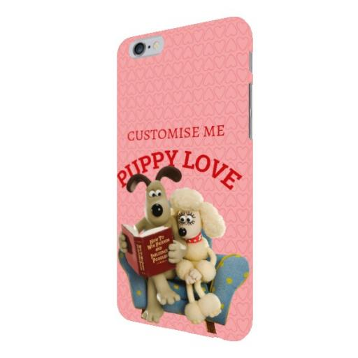Wallace And Gromit Puppy Love iPhone 6/6s Clip Case