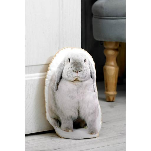 Attention Rabbit Lovers-Vivid Image Rabbit Shaped Doorstop