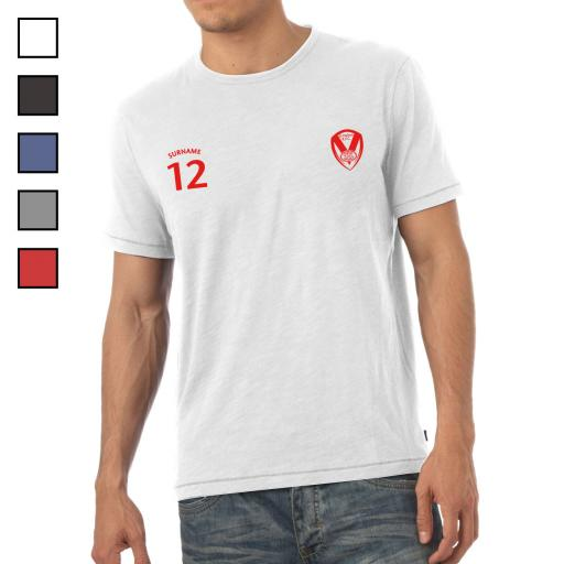 St Helens Mens Sports T-Shirt