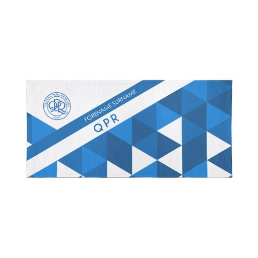 Queens Park Rangers FC Patterned Travel Towel