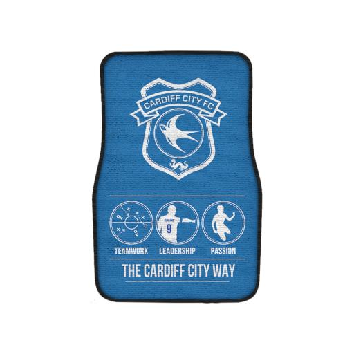 Cardiff City FC Way Front Car Mat