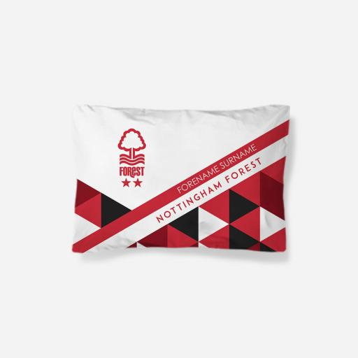 Nottingham Forest FC Patterned Pillowcase