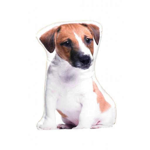 Jack Russell Shaped Cushion Perfect Gift For Dog Lovers