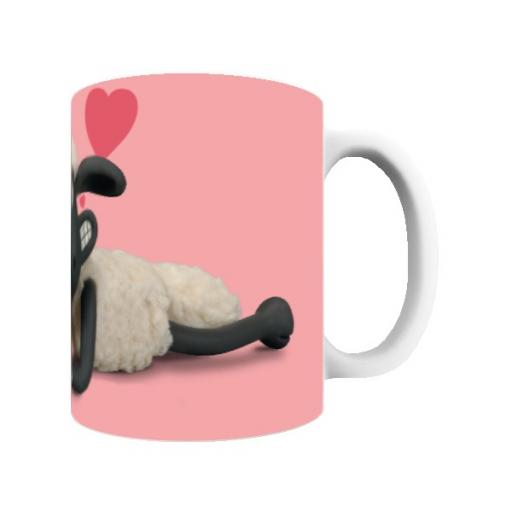 Aardman Shaun The Sheep Valentines 'I Love Ewe' Mug