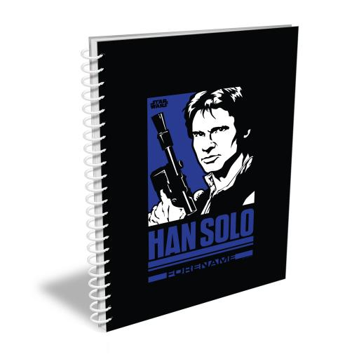 Star Wars Han Solo Pop Art A4 Notebook