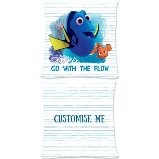 Disney Finding Dory 'Go With The Flow' Large Fiber Cushion
