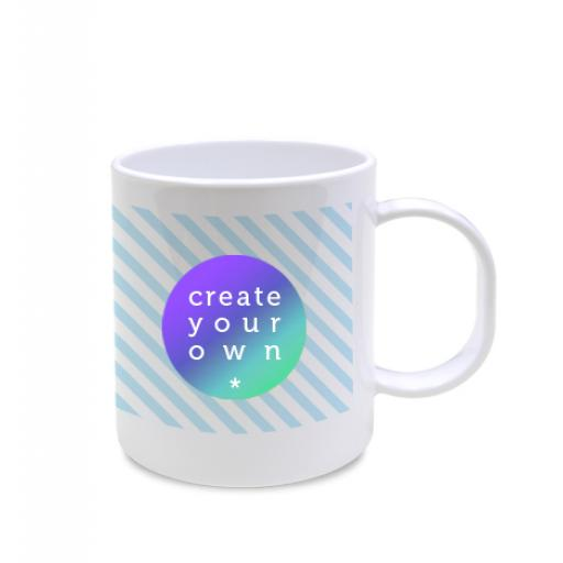 Create Your OwnMug - White - Plastic - 11oz