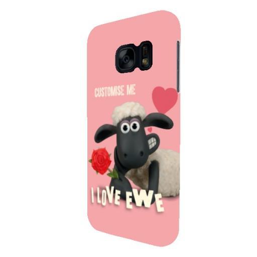 Shaun The Sheep Valentines 'I Love Ewe' Samsung Galaxy S7 Clip Case