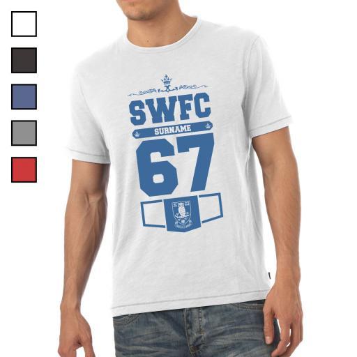 Sheffield Wednesday FC Mens Club T-Shirt