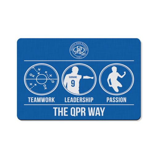 Queens Park Rangers FC Way Floor Mat