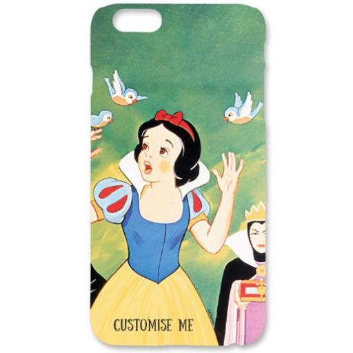 Disney Retro Poster Art Snow White iPhone 6+/6s+ Clip Case