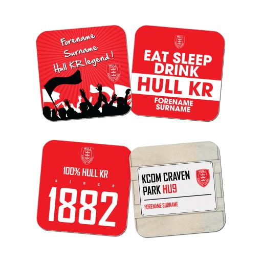 Hull Kingston Rovers Coasters