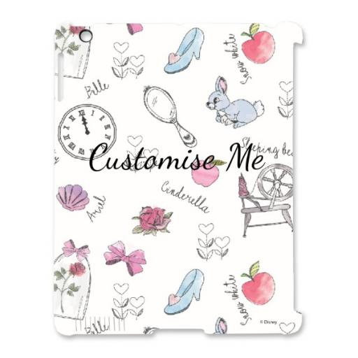 Disney Princess 'Accessories' iPad 2/3/4 Clip Case