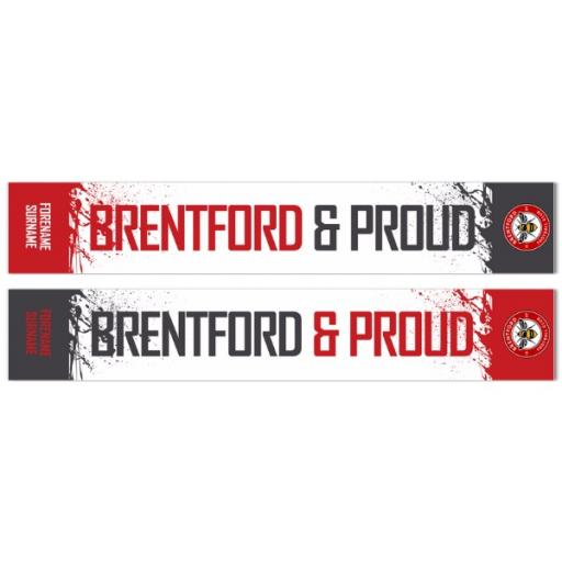 Brentford FC No.1 Fan Fashion Scarf