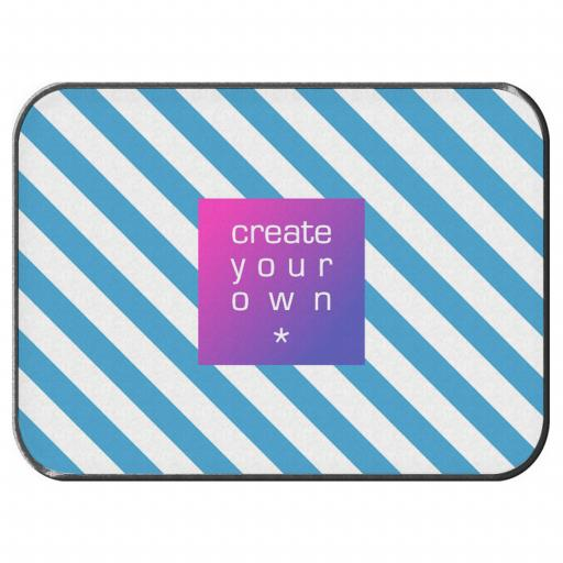 Create Your Own Car Mats - Polyester - Pair - Rubber Backed - Rear