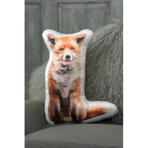Fox Shaped Cushion Perfect Gift For Animal Lovers
