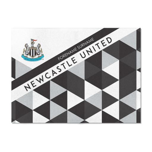 Newcastle United FC Patterned Blanket (100cm X 75cm)