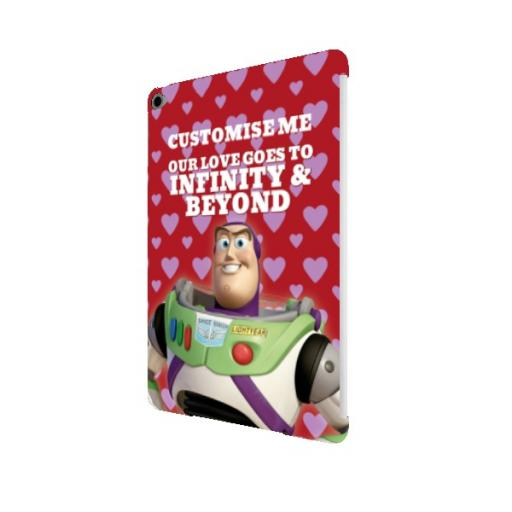 "Disney Toy Story Buzz Valentines ""Infinity & Beyond"" iPad Air 2 Clip Case"