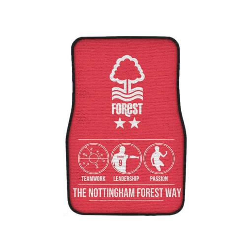 Nottingham Forest FC Way Front Car Mat