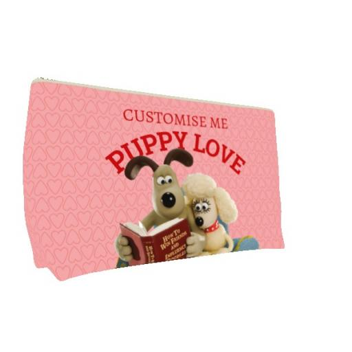 Wallace And Gromit Puppy Love Medium Wash Bag