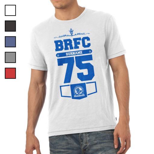 Blackburn Rovers FC Mens Club T-Shirt