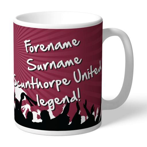Scunthorpe United FC Legend Mug