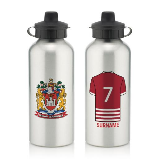 Wigan Warriors Aluminium Water Bottle