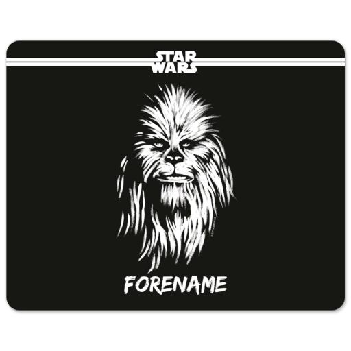 Star Wars Chewbacca Paint Mouse Mat