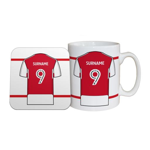 Fleetwood Town FC Shirt Mug & Coaster Set