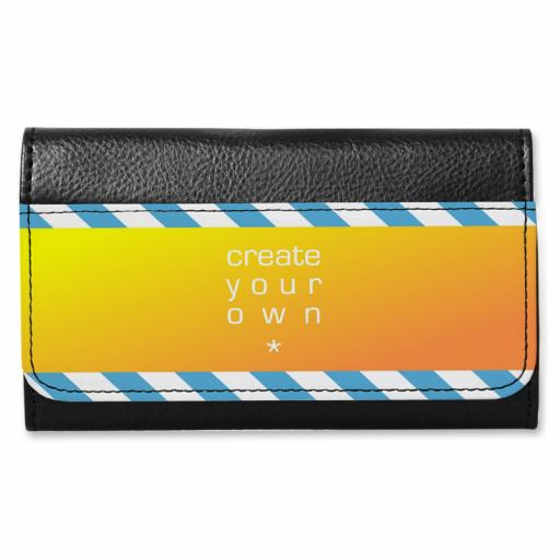 Sunglasses Case - Faux Leather - High Gloss - Black
