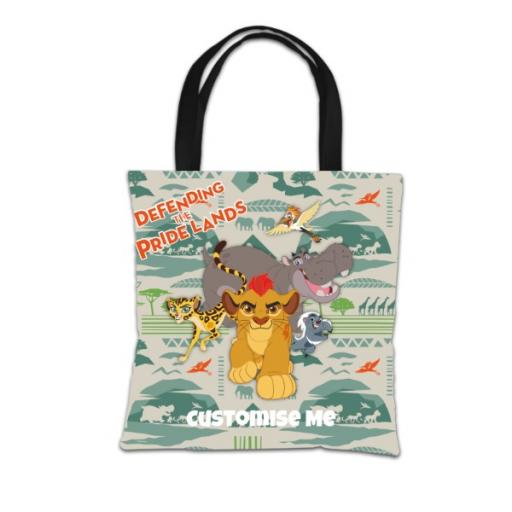 Disney The Lion Guard Group Defending The Pride Lands Tote Bag