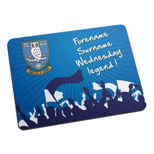 Sheffield Wednesday FC Legend Mouse Mat