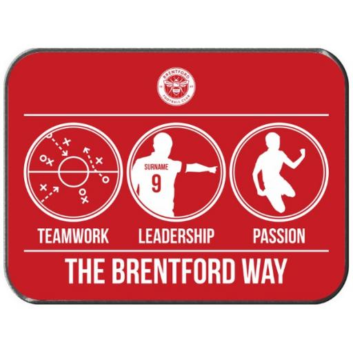 Brentford FC Way Rear Car Mat