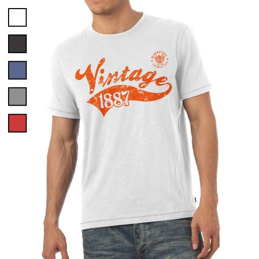 Blackpool FC Mens Vintage T-Shirt